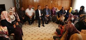 Başkan Çelikcan, Feke'de vatandaşlarla buluştu