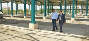 Akşehir Yarenler Mahallesi kapalı pazar inşaatında sona yaklaşıldı