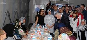 Vali Kamçı Şehit Orhan Özkan'ın ailesini ziyaret etti
