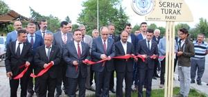 """Beyşehir'de """"Serhat Turak Parkı"""" dualarla açıldı"""