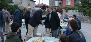 Seydişehir Belediyesinin iftar sofrası Kuran Mahallesine kuruldu
