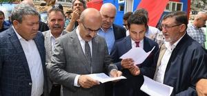 Kızıldağ'da tapu sorunu çözülüyor Adana Valisi Mahmut Demirtaş, Kızıldağ yaylasındaki vakıf arazilerine yönelik tapu sorunlarının en kısa sürede çözüleceğinin müjdesini verdi