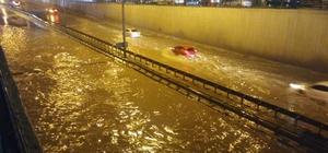Kocaeli'nde sağanak yağış su baskınlarına yol açtı