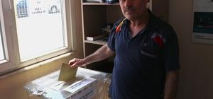 Gurbetçiler Derince Limanı'nda oy kullanmaya başladı