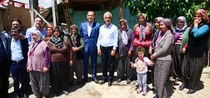 Başkan Sözlü Tufanbeyli'de Sözlü, sahurunu Tufanbeyli'de yaptı, gün boyu vatandaşlarla kucaklaştı