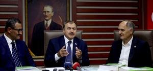 Bakan Eroğlu Giresun'da Orman ve Su İşleri Bakanı Veysel Eroğlu Giresun'da 163 milyon lira yatırım bedelli 13 tesisin temel atma ve açılışını gerçekleştirdi