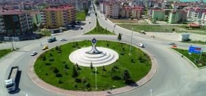 Beyşehir'i sembolize edecek anıt tamamlandı