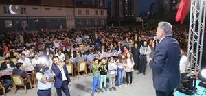 Büyükkılıç'tan Tınaztepe halkına üç yatırım müjdesi