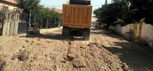 Develi'deki kırsal mahallelerde çalışmalar devam ediyor