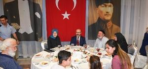 Vali Demirtaş, şehit aileleri onuruna düzenlenen iftara katıldı