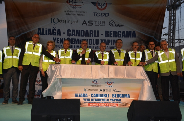 Aliağa-Çandarlı-Bergama Raylı Sistemi ihracat kapısı olacak