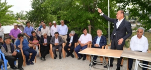 """Başkan Sözlü iftarını Saimbeyli'de ilçe halkıyla birlikte yaptı Sözlü: """"Sizleri ziyafete değil gönüllerimizi birleştirmeye, bir olmaya davet ettik"""""""