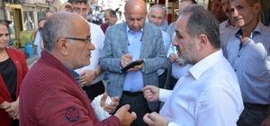 """Murat Demir, İnebolu'da esnaf ziyaretinde bulundu AK Parti Kastamonu Milletvekili Murat Demir; """"İnebolu Yolu, 2021 yılında bitirilerek teslim edilecek"""" """"Şuan ki milletvekili adaylarının elinde ne projeleri var ne de bir planları bulunuyor"""""""