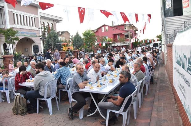 Körfez ve Sanayi Mahallesi aynı masada iftar açtı