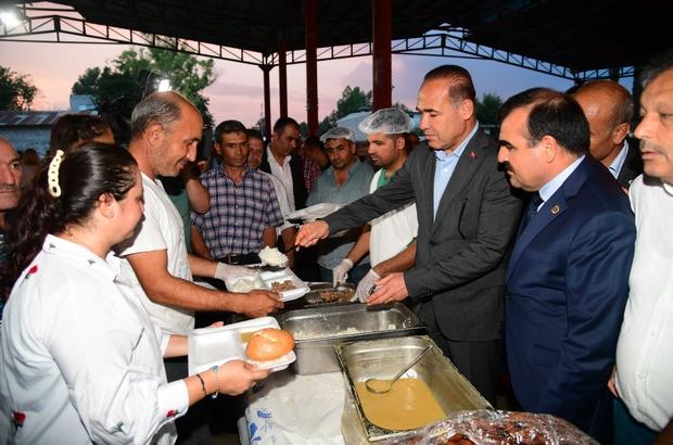 Başkan Sözlü, iftarını İmamoğlu'nda yaptı