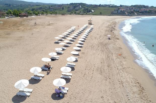 Kocaeli'nin plajları Ege ve Akdeniz'i aratmıyor