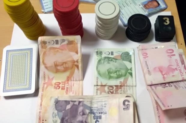 Kocaeli'de kumar oynayan 251 şahsa 65 bin TL ceza
