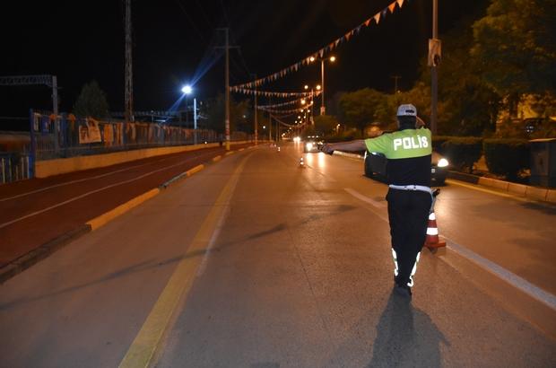 Uygulamaya takılan sürücü polisi ikna etmeye çalıştı Kırııkkale'de Huzur Arife Uygulaması