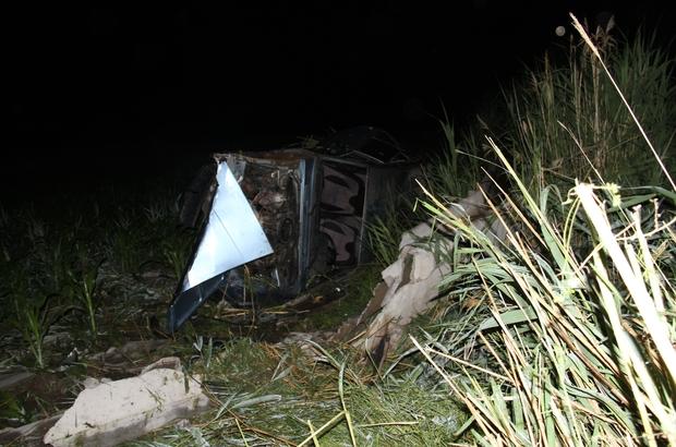 Konya'da yaban domuzu kazaya sebep oldu: 5 yaralı