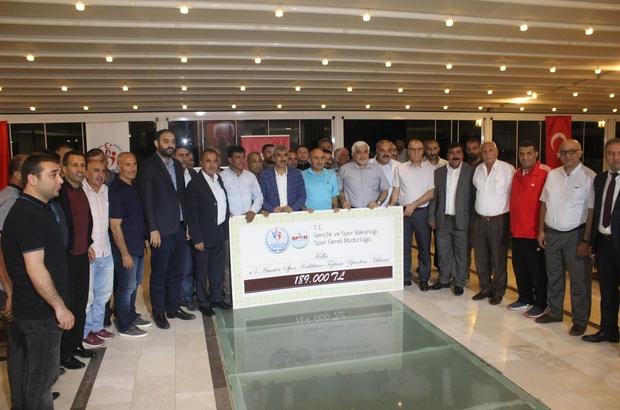 43 Amatör spor kulübüne 189 bin TL yardım