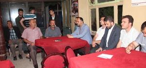 Başkan Özaltun'un dış mahalle ziyaretleri sürüyor