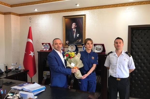 Burhaniye'de Jandarma Teşkilatı'nın 179. kuruluş yıl dönümü