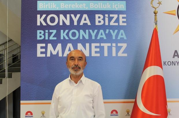 """AK Parti Konya İl Başkanı Angı: """"Bu şehir AK Partiye hep sahip çıkmıştır"""""""