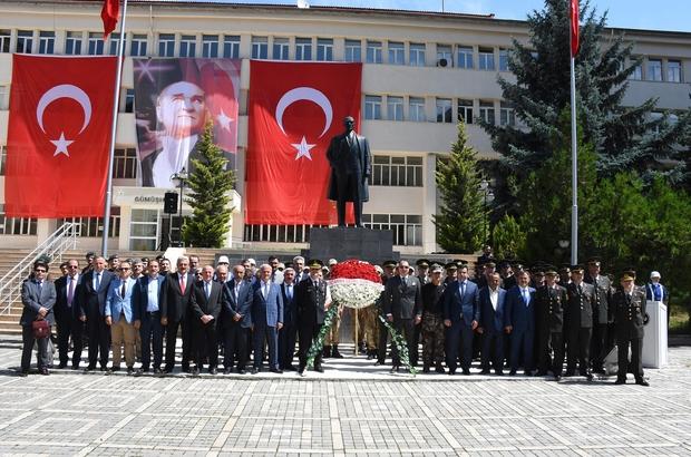 Jandarma teşkilatı 179 yaşında Gümüşhane'de Jandarma'nın kuruluş yıldönümü kutlandı