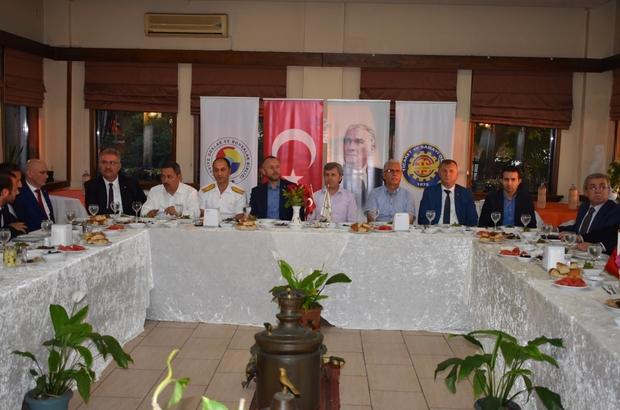 Kdz Ereğli TSO yönetimi iftarda protokolle buluştu