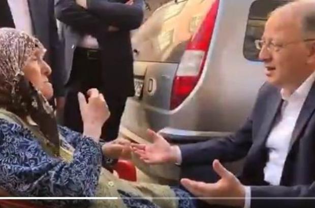 Milletvekili Koçer Hasip Duru esnafını gezdi