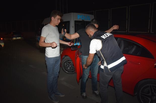 Antalya'da Huzur Arife Uygulaması: 9 gözaltı 23 araca, 9 bin 425 lira cezai işlem uygulandı