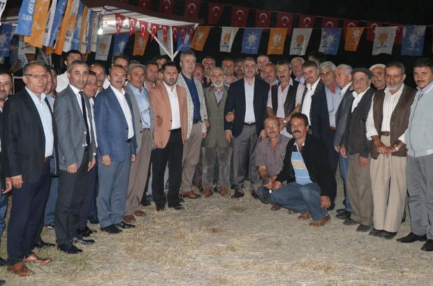 Milletvekili Köktaş, seçim çalışmalarını İlkadım ve 19 Mayıs'ta sürdürdü