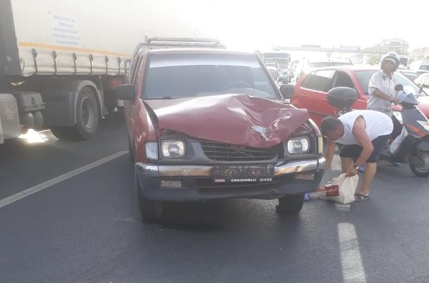 Antalya'da kamyonetin çarptığı turist öldü