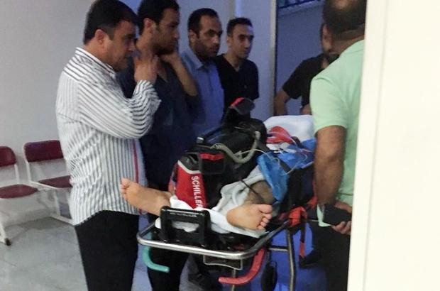 Suruç'taki kavgada ağır yaralanan bir kişi uçak ambulansla Ankara'ya götürüldü