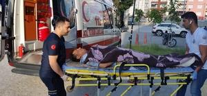 Tamir yaptığı çatıdan düşerek yaralandı