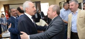 Başkan Gül halkla bayramlaştı