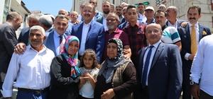 Bakan Özhaseki'den Develi'ye Bayram Ziyareti