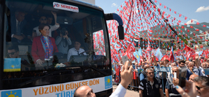 İYİ Parti'nin Karabük mitingi