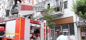 Bayramları yangınla zehir oluyordu Kahraman vatandaşlar camı kırarak yangının büyümesini önledi
