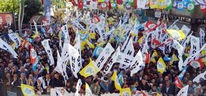 Hakkari'de HDP mitingi