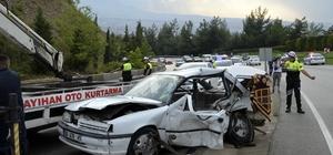 Denizli'de zincirleme trafik kazası: 1 ölü, 9 yaralı Bayram gezmesine çıkan ailenin yolculuğu facia ile bitti