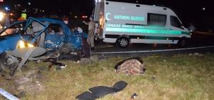 Bayram ziyareti dönüşü, kana bulandı: 6 Ölü, 2 Yaralı Kastamonu'da kavşakta iki otomobil çarpıştı: 6 Ölü, 2 Yaralı
