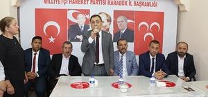 Başkan Vergili MHP'de bayramlaşma törenine katıldı