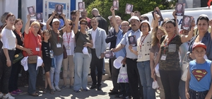 Başkan Ataç ve vatandaşlardan İnce'ye destek