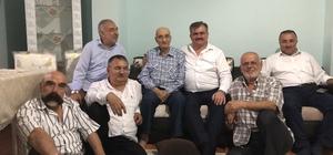 Milletvekili Çaturoğlu, 38 yıllık efsane muhtarı ziyaret etti