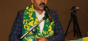 Şanlıurfaspor'da Emin Yetim yeniden başkan