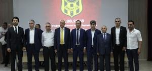 E.Yeni Malatyaspor'da yönetim mali açıdan ibra edildi