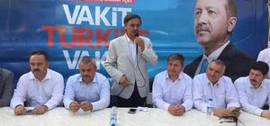 """Güneş, """"Türkiye'yi kimin yöneteceği ortaya çıkacak"""" AK Parti Milletvekili Adayı Güneş,""""Sistem değişikliği Türkiye'yi şahlandıracak"""""""