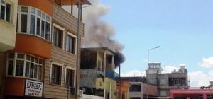 Suriyelilerin yaşadığı evde yangın