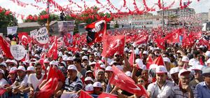 CHP'nin cumhurbaşkanı adayı İnce'nin Elazığ mitingi